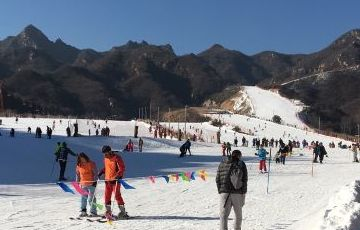 Huaibei Ski Resort and Mutianyu Great Wall Private Day Tour