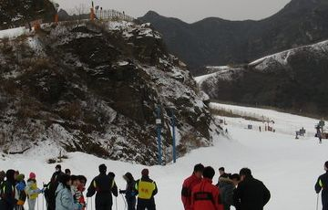 Huaibei International Ski Resort Private 1 Day Skiing Tour