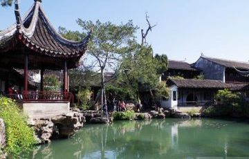 Shanghai to Suzhou Garden and Zhouzhuang Watertown Private Day Tour