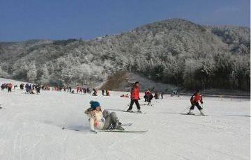 Badaling Ski Resort and Badaling Great Wall Private Day Tour