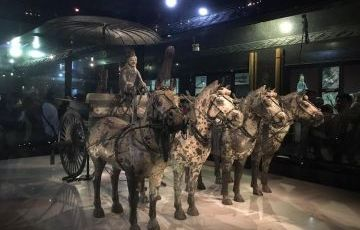 Terra-Cotta Warriors and Banpo Neolithic Village Museum Bus Group Tour